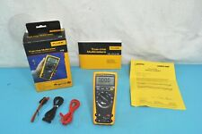 Fluke 179 True RMS Multimeter Kit Measure Temperature Frequency Current
