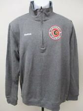 Neuf Calgary Flames Homme Taille L gray Reebok Pull