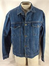 Vintage Calvin Klein Denim Trucker Jacket Tight XL OR LOOSER Large