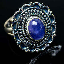 Tanzanite 925 Sterling Silver Ring Size 7.5 Ana Co Jewelry R12984F