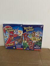 Reader Rabbit I Can Read with Phonics & Reader Rabbit 2nd Grade Bundle New