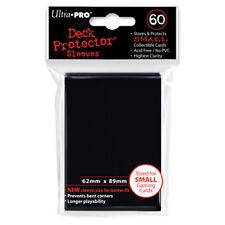 ULTRA PRO Deck Protector - Mini 60ct Black - 10 packs NEW