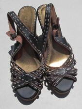 Women's Seychelles Wedge sandals size 8 brown Retail $79