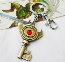 The Legend of Zelda Link Boss Key Keychain Pendant Chain Keyring