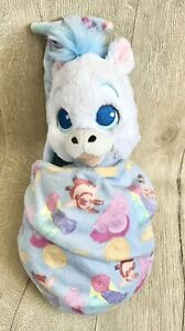 Rare Disney Babies Baby Pegasus Hercules With Pouch Blanket Plush Soft Toy