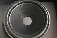 """18"""" Paper Speaker Subwoffer Fiberglass Cone paper Foam Surround 4"""" voice coil"""