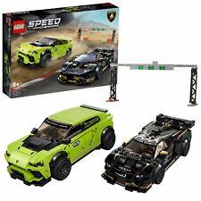 LEGO76899SpeedChampionsLamborghiniUrusST-X& HuracanSuperTrofeoEVO Cars