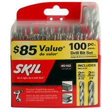 SKIL by BOSCH HSS DRILL BIT SET 100 PCS Home Renovation Workshop Tools RRP $109