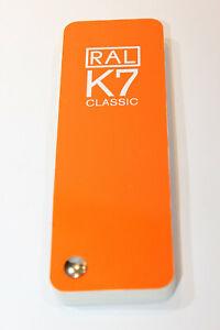 RAL Farbfächer K7 1 Stück nicht aktuell enthalten nur 210 Farbtöne Farbtonkarte