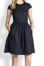 Theory Reska Taranto Dress in Navy Size 6