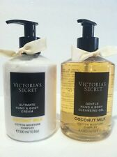 Victoria's secret Coconut Ultimate Hand And Body Cream And Cleansen Gel
