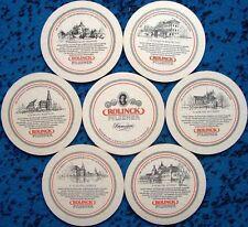 Bierdeckel Serie Rolinck Steinfurt Burgsteinfurt - Sehenswürtigkeiten 1984