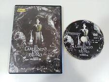 IL LABIRINTO DEL FAUNO DVD WILLIAM DEL TORO SPAGNOLO ENGLISH