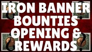 Iron Banner Bounties PS4/XBOX/PC
