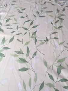 REM End Of Roll SoftFurnishing Fabric Craft 123x82cm Sanderson Greenwood