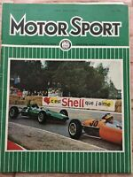 Motor Sport Magazine - May 1964 - Hillman Imp, Aintree 200, Reliant Sabre Six GT