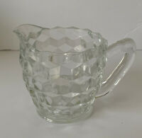 Vintage Fostoria American Pattern FOOTED CREAMER Perfect!