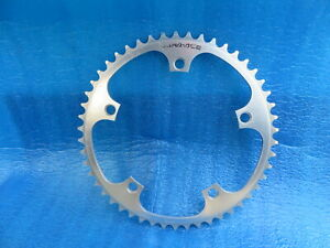 """Shimano Dura Ace FC-7600 144BCD 1/8""""  NJS Chainring 50T Fixed Gear (20040202)"""