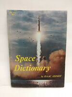 Vintage Paperback Space Dictionary by Isaac Asimov 1970 Scholastic 2nd Printing