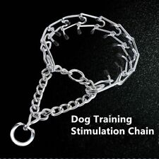 XL -XXL Dog Choke Collar Metal Steel Stimulus Chain Prong Dog Training