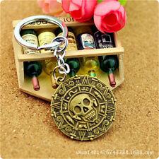 Metal Key Ring Unique Keyfob Skeleton Keychain Pirates of the Caribbean SHK