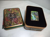 ZIPPO ACCENDINO LIGHTER  MYSTERIES OF THE FOREST LIMITED EDITION  RARE NEW