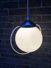 1950's Globe Pendant Light