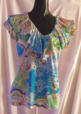 V Neck Cap Sleeve Classic Petite Tops & Shirts for Women