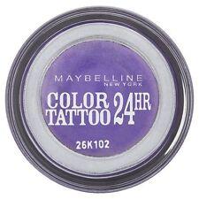 Maybelline Color Tattoo 24hr Ombretto Crema Liscio Gel #15 INFINITI VIOLA NEW