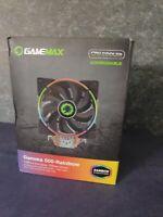 Gamemax Gamma 500-Rainbow Cpu Cooler - 120mm LED Fan - Ships Free