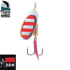 Dam effzett spinner /SILVER RED STRIPE/ #4-10g. spinnerbait,lure,predator,pike