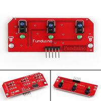 1Pcs 3 Way Infrared IR Line Tracking Sensor Module For Raspberry Pi Arduino SS