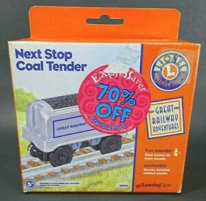 Lionel Train Collectable Railroad Learning Curve 92600 Next Stop Coal Tender Car