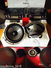 """FOCAL UTOPIA 165W-RC PASSIVE 2-Way KIT SPEAKERS 6.5"""" TW X-OVER > MADE IN FRANCE"""