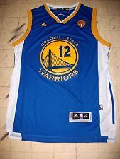 GOLDEN STATE WARRIORS NBA FINALS BASKETBALL JERSEY ANDREW BOGUT  12 ALL  SEWN ON e3adab949