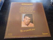 coffret d'or Jacques Brel :  ne me quitte pas - 3 disques impact  6993007