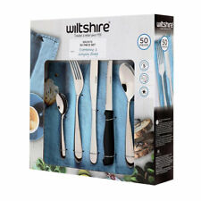 Wiltshire Bronte Stainless Steel Classic Cutlery Set - 50 Piece