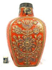 """Rare 60´s design Carstens Luxus  """" Relief """" Keramik pottery Vase  7692 - 45"""