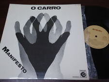 "O CARRO - Manifesto, LP 12"" RARE FOLK SPAIN 1977 GATEFOLD"