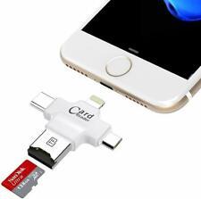 Lettore scheda memoria microSD per smartphone tablet typec micro USB iPhone SC4B