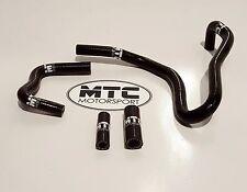 MTC Motorsport Manguera de bote de carbono Audi S3 8P MK5 Golf GTI 2.0 TFSI Turbo Negro