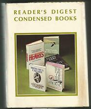 Readers Digest Condensed Book 1st ED 89,Hardcover Book