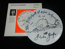 Rosenthal Künstlerteller 01: Günter Grass (Nr. 2530) mit Originalkarton!