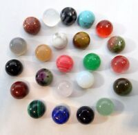 6*6MM Natural Mixing agate Round cabochon Flatback Semi-Precious Gemstone
