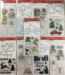 Recollections Christmas Stamp & Die LOT to choose from