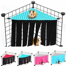 New listing Guinea Pig House Bed Cage Hideout Hamster Mini Animal Mice Rat Nest Bed Hideaway