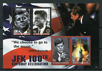 St Vincent & Grenadines 2017 MNH JFK John F Kennedy 100th Bday 4v M/S I Stamps
