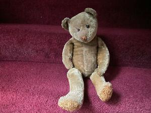 """Antique Early Ideal 20"""" Teddy Bear"""