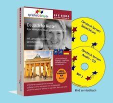Deutsch lernen für Russen, Russisch - Deutsch auf CD + MP3
