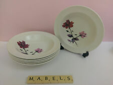 J & G MEAKIN ~SOL WITCHCRAFT~  dessert bowls x 6